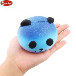 Ładny Niebieski Panda Wycisnąć Krem Zapachowa Squishy Powolny Wschodzące Kid Toy Telefon Charm Prezent