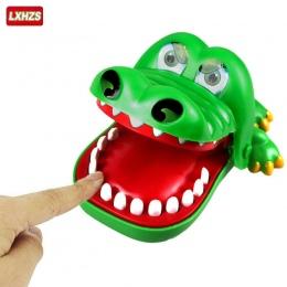 Dziecko zabawki Duży Krokodyl Żarty Usta Dentysta Brań Finger Gra Joke Zabawy Śmieszne Krokodyl Zabawki Antystresowe Prezent Dzi
