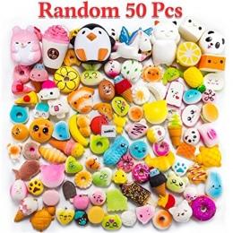 Losowe 50 sztuk Squishies Krem Pachnące Powolne Wschodzące Kawaii Symulacji Piękne Zabawki Jumbo Średniej Mini Miękkie Squishies