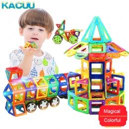KACUU Duży Rozmiar Magnetyczne Projektant Budowy Zestaw Modelu i Budowlane Zabawki Magnesy Magnetyczne Bloki Zabawki Edukacyjne