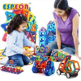 107 Sztuk Duży Rozmiar Projektant Magnetyczny Budulcem Modelu i Budowlane Zabawki Oświecić Cegły Magnetyczne Zabawki dla Dzieci