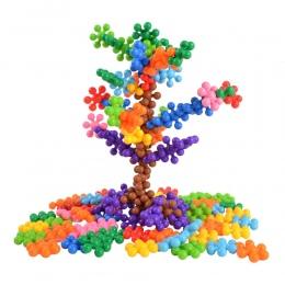 BOHS 120 SZTUK Kliknij Połącz Blokady Stałe Bloki Ustawione MACIERZYSTYCH Preschool Edukacyjne Zabawki dla Dzieci z Workiem prez
