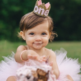 Baby boy dziewczyna Pierwsze 1st Urodziny Kapelusz Złota księżniczka książę Korony Jeden Dwa Trzy Lata Stare Glitter party carto