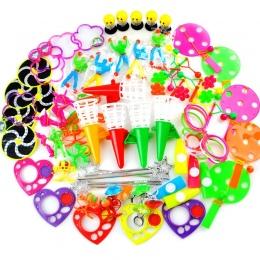80 SZTUK Zabawek dla Dzieci Party Dobrodziejstw Ogrodnicze Dziewczyna Boy Birthday Party Gift Bag Wypełniacze Pinata Dzieci Karn
