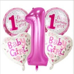 5 sztuk Niebieski/Różowy Birthday Party Gra Kapelusz zabawki Numery Urodziny Akcesoria Zabawki Zabawki Firm Kapelusze Party Kape