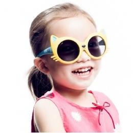 2018 dzieci Dziewczyny Chłopiec 8 Kolory Kot Kreskówka Anty parasolka UV400 Okulary Okulary dzieci Maluch Niemowląt niemowlęta z