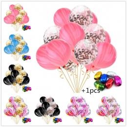 15 sztuk/paczka Rainbow Kolor 10 sztuk Agat + 5 sztuk konfetti balon + 1 sztuk Losowy Kolor Wstążka Boże Narodzenie Urodziny par
