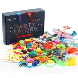 120 sztuk Sprzyja Partii dla Dzieci Chłopcy Dziewczęta Pinata Zabawki Wypełniaczy Birthday Party Prezent Zabawki Asortyment Karn