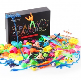 100 sztuk Kids Birthday Party Dobrodziejstw Dziewczyna Chłopak Torba Pinata Wypełniaczy Prezent Zabawki Karnawał Nagrody przez A