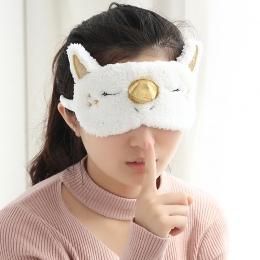 Śliczne Unicorn Śpiąca Eye Zabawki Maska Kreskówki Blindfold Okładce Oka Cień Miękka Okładka Girl Kid Nastolatek Podróży Snu Eye