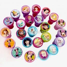 6 sztuk/worek Dzieci PODŁUBAĆ Znaczek Edukacja Toy Cartoon Księżniczka Malarstwo Znaczki Dzieci Szkoła Sztuki Narzędzie Własny O