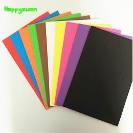 Happyxuan 10 sztuk/paczka 20*30 cm 2mm Pianka Eva Scrapbooking Rzemiosła Przedszkole Rękodzieła Diy Materiały Kolorowe