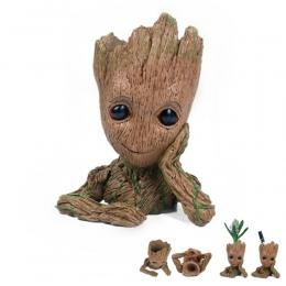 Moive Dziecko Grootted Sadzarka Pen Pojemnik Strażnicy Galaktyki Drzewo Człowiek Doniczka z Otworem Action Figures Toy Model.