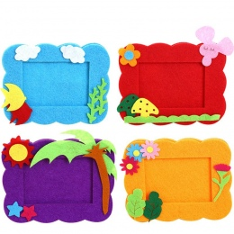 Włókniny ramki włóknina materiałów dzieci tkaniny ręczna DIY produkcji materiału kid prezent kreatywny materiał BS69