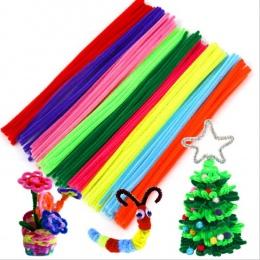 100 sztuk Materiały Montessori Chenille Puzzle Zabawki Dla Dzieci Edukacyjne Zabawki Rzemiosła dla Dzieci Czyszczenia Rur Handma