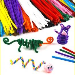 Wielokolorowych Chenille Pnie Rur Sprzątanie Handmade Diy rękodzieła Sztuki i Rzemiosła Materiał dzieci Kreatywność zabawki