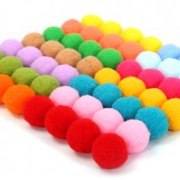 100 sztuk Lot Duże średnie i małe kolor wełny piłka złoty cebuli piłka przedszkola materiały DIY handmade dla dzieci BS94