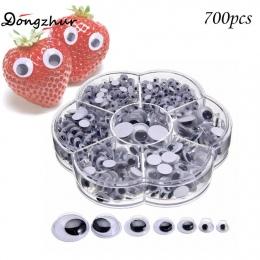 700 sztuk 4-12mm Wiggly Wobbly Googly Oczy samoprzylepne Scrapbooking Rzemiosła Mieszane Dzieci DIY WWP5356