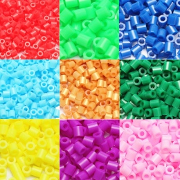 1000 sztuk EVA 5mm Hama Koraliki Zabawki DIY Mini Perler Koraliki Zestaw Kreatywny Edukacyjne Koraliki 3D Puzzle Zabawki Dla dzi