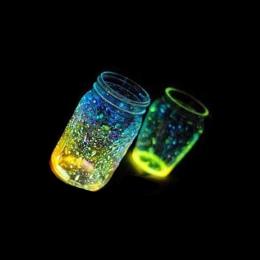 10g Glow In The Dark Luminous Strona DIY Jasne Noctilucent Piasek Ryb bowl piasku Wishing Butelki Fluorescencyjne Cząstki Kid pr