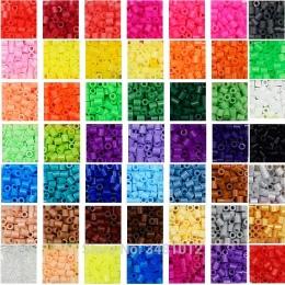500 sztuk/worek 5mm Koraliki Perler Hama Koraliki Mieszane Kolorowe Wysokiej Jakości DIY Ręcznie 3D Puzzle Dla Dzieci Zabawki dl