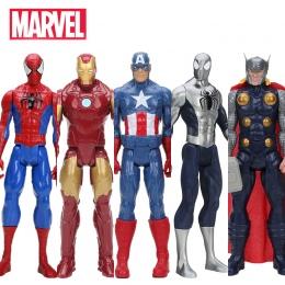 Hasbro Marvel Zabawki Avenger 30 cm Super Hero Thor Kapitan Ameryka Wolverine Spider Man Iron Man PVC Action Figure zabawki Lalk