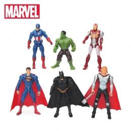 6 sztuk 10.5 cm Zabawki Marvel Avengers Rysunek Ustaw Superhero Batman Thor Hulk Kapitan Ameryka Figurka Kolekcjonerska Model la