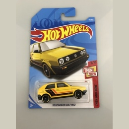 Nowościach 2018 8j Hot Wheels 1: 64 żółty Volks golf mk2 Modeli Samochodów Kolekcja Dla Dzieci Zabawki Pojazdu Dla Dzieci hot sa