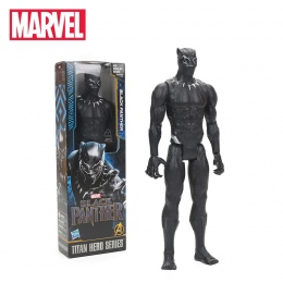 30 cm Czarna Pantera Titan Bohater Serii PCV Figurka Zabawki avengers Figurki Marvel Super Hero Kolekcja Model Lalki zabawki