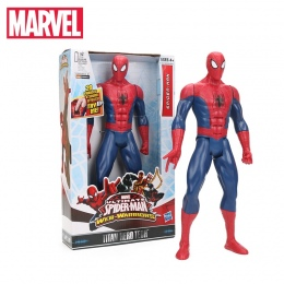Marvel Zabawki 26-30 cm Elektroniczny OSTATECZNY SERII HERO Spiderman Spider-Man Captain America Postać TITAN Ultra PCV Action F