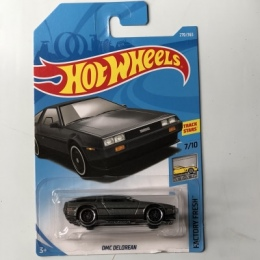 Nowości 2018 8 m Hot Wheels 1: 64 CZARNY DMC DELOREAN Modeli Samochodów Kolekcja Dla Dzieci Zabawki Pojazdu Dla Dzieci hot samoc