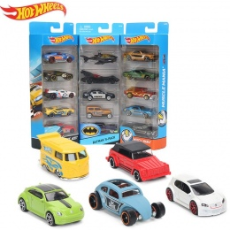Oryginalny 5 sztuk/pudło Kolekcja Klocki Hot Wheels Hotwheels Mini Samochodu 1: 64 Fast and Furious Stop Diecast Samochodów Samo