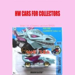 Nowi 2017 Hot Wheels 1: 64 Blue Dragon Blaster Metal Diecast Pojazdu Samochody Kolekcja Zabawki Dla Dzieci Dla Dzieci Juguetes