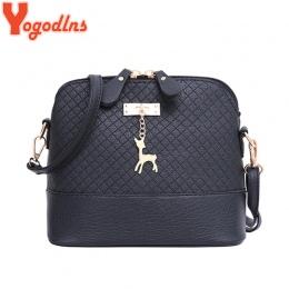 Yogodlns Nowe kobiece torebki jakości pu leather miękkie twarzy kobiet torba dzikie torba na ramię torba Pikowana powłoki wisior