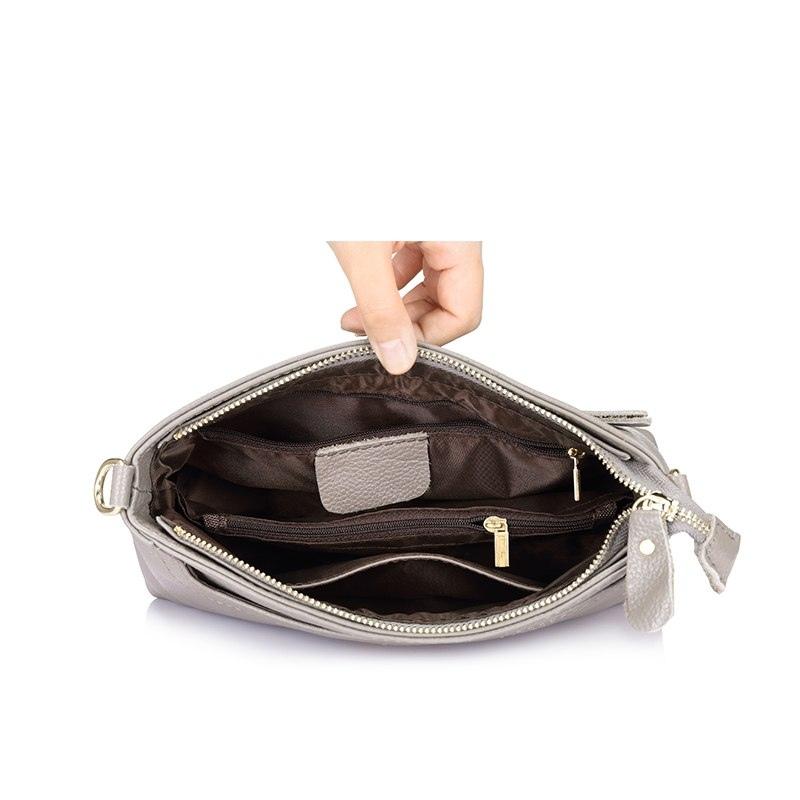 d495e31095cd0 ... REALER kobiety ramię messenger torby prawdziwej skóry torebki kobiet  mody crossbody torba panie stałe małe dużego ...
