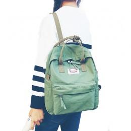 Kobiety Plecak dla Młodzieży Szkoła Dziewczyna Vintage Stylowy Dla Pań Bawełniany Tkaniny Plecak Tornister