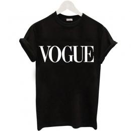 Plus Rozmiar S-XL Harajuku Lato T Koszula Kobiety New Arrivals Moda VOGUE Nadrukiem T-shirt Kobieta Tee Topy Przypadkowa Kobieta