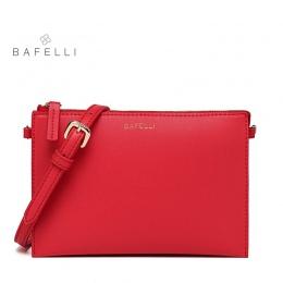 BAFELLI małe flap torebka na ramię mody Wielokolorowe dzień sprzęgła gorąca sprzedaż różowy czerwony bolsa mujer kobiety torba