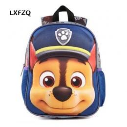 3D Torby dla dziewczyn plecak dzieci Puppy mochilas escolares infantis dzieci torby szkolne piękny Tornister Szkolny plecak Dla