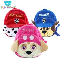 Unisex Zamek Dziecko Cute Dzieci Plush Puppy Plush Plecak Dla Dzieci Torby Szkolne Plecaki Mini tornister Dla Dziecka 1-3 lat