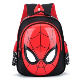 2018 3D 3-6 Roku Życia Torby Szkolne Dla Chłopców Wodoodporne Plecaki Dziecko Spiderman torba Książka Dzieci Torba Na Ramię torn