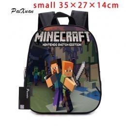 2017 dzieci Plecak Przedszkola Plecak Chłopiec Śliczne MineCraft Cartoon Plecak Hot Gry Plecak Torby Szkolne dla Chłopców i Dzie