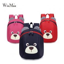 Wiek 1-3 Maluch plecak anty-lost torba cute animal dog dzieci plecak przedszkola dzieci dziecko niedźwiedź szkoły torba mochila