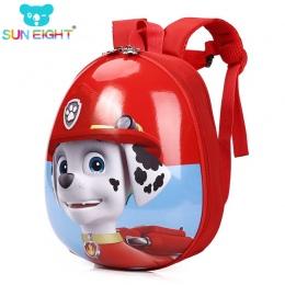 Sześć Puppy Mały Chłopiec Plecak Cartton Drukowanie Tornister Plecaki Dla Chłopców/dziewcząt Przedszkola Torba EVA