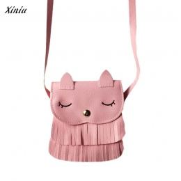 Xiniu Dzieci kot torby portfele dla dzieci Słodkie wzór Torby kitki Torba Na Ramię Słodkie para mujer monederos