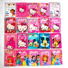 Dziewczyny jak moda skóra posiadacza paszportu pcv, mickey i minnie kreskówki hello kitty travel paszport okładka case