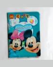 Wielofunkcyjny PCV Mickey i Minnie Okładka Paszportu Podróży Worek Do Przechowywania Karty ID Holder Pakiet Dokumentów Pokrywa