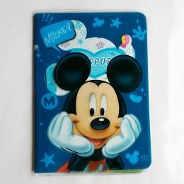 Hurtownie Mody Mickey i Minnie Pakiet Travel Paszport Okładka Paszportu Posiadacza Paszportu PU Skóra Posiadacza Karty Torba 5.5
