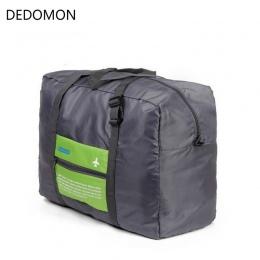 Mężczyźni Wodoodporna Torba Podróżna Dla Garnitur Nylon Duża Pojemność Kobiety Składana Torba Torby Podróżne Bagaż Ręczny Pakowa