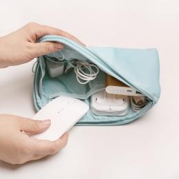 Kobiety Business Travel Bag Pakowania Kostki Cyfrowy Ładowarka Akcesoria Pakiet Organizator Torba sportowa Dla Mężczyzn para via